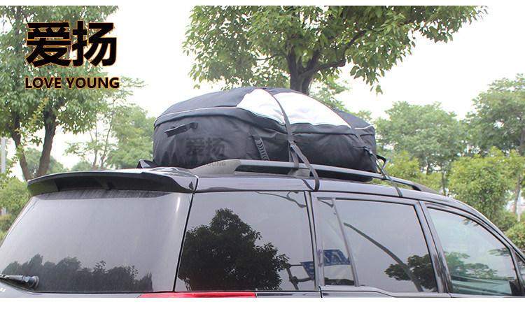 Car Roof Bag Waterproof Roof Top Cargo Bag Luggage Travel Extra Storage Bag