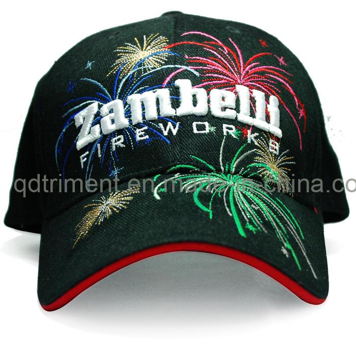 Screen Print Embroidery Cotton Twill Sport Baseball Cap (TMB0820)