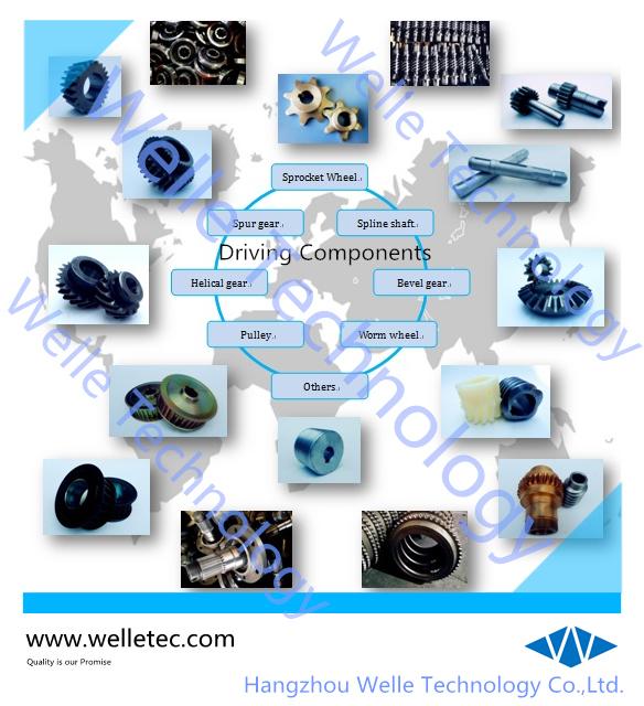 Standard & Nonstandard Side Roller Conveyor Chains, DIN ISO ANSI