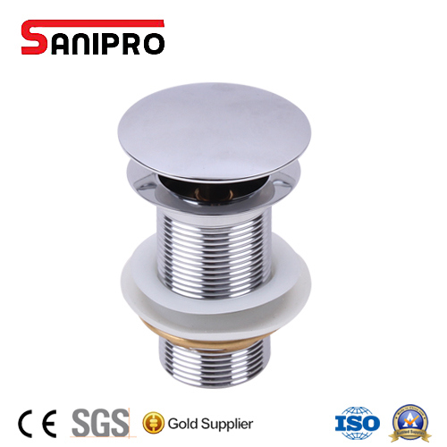 Sanipro Stainless Steel Pop-up Basin Drain
