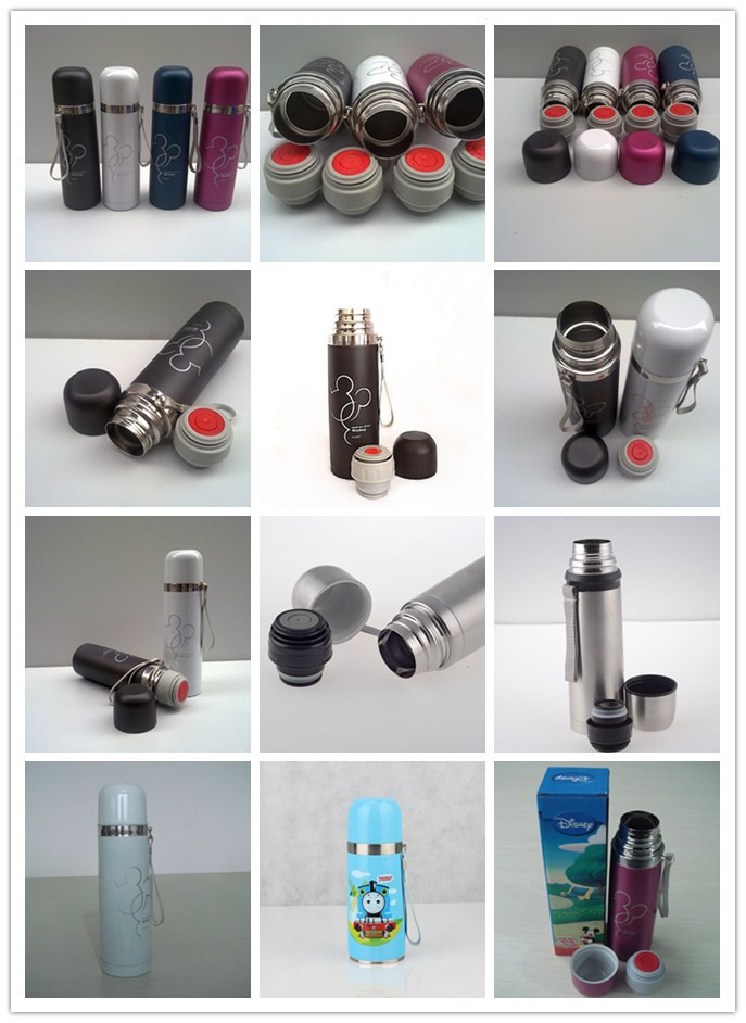 500ml Double Wall Stainless Steel Vacuum Bottle