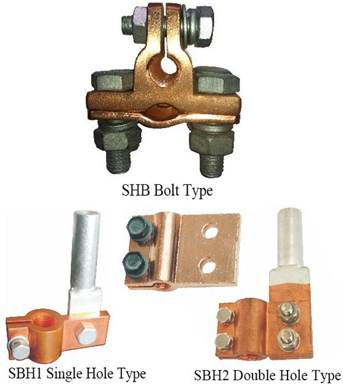 Sbh Type Hold Pole Terminal Clamp
