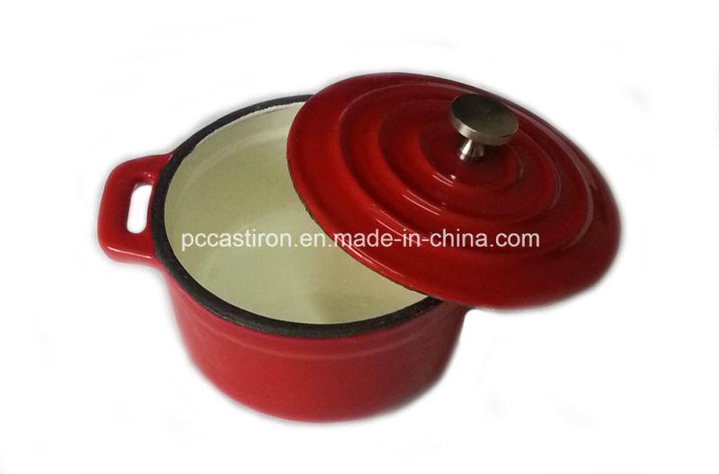 Enamel Cast Iron Mini Pot Size 10cm