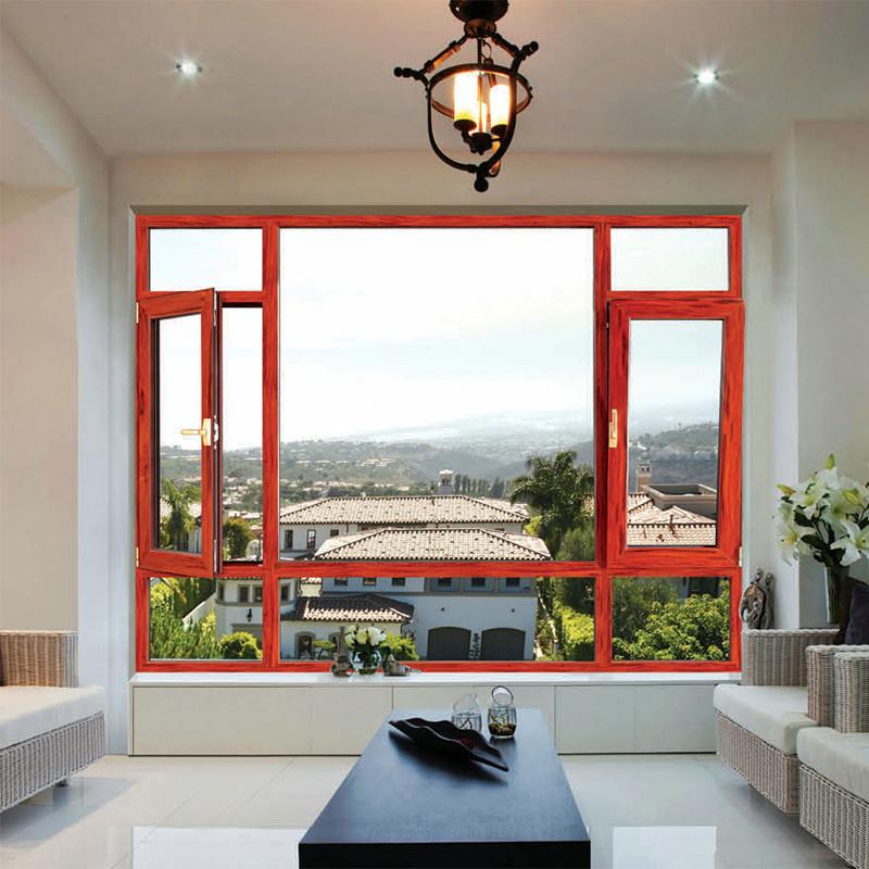 Energy Efficient Double Glazing Aluminium Awning Window (FT-W70)