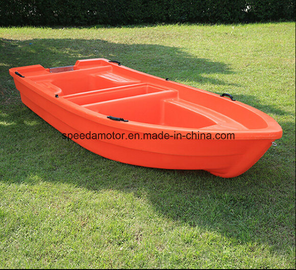 Popular PE Boat 3.6m Lake Fishing Plastic Boat for 6 Persons
