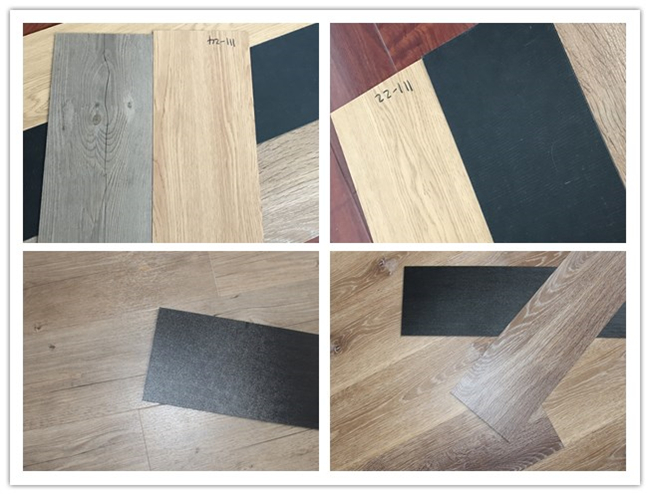 Commercial Wood PVC Vinyl Floor Dry Back Vinyl Flooring