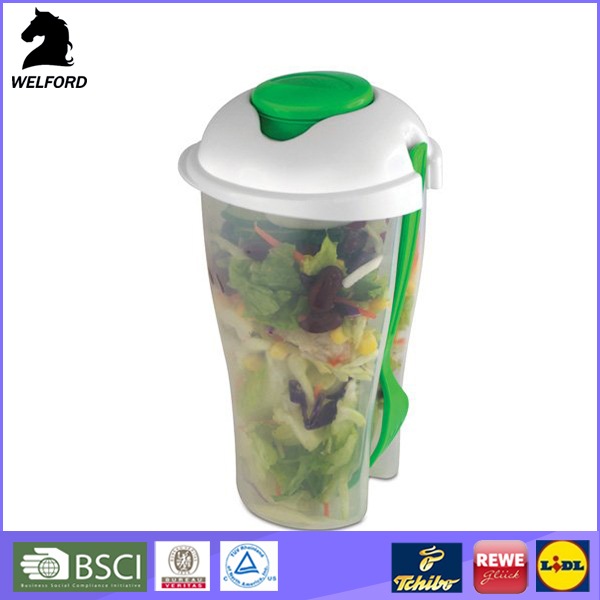 Hot Selling Colorful Plastic Salad Cup