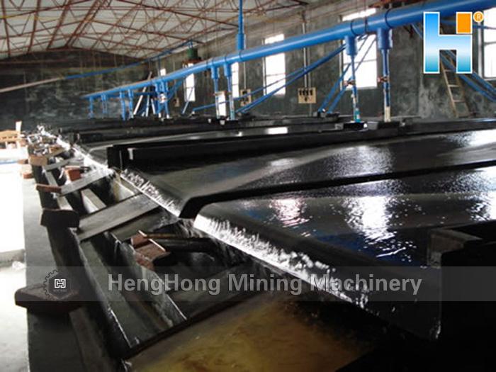 Tin/Gold/Tungsten/Chrome/Coltan Mining Machine Shaking Table