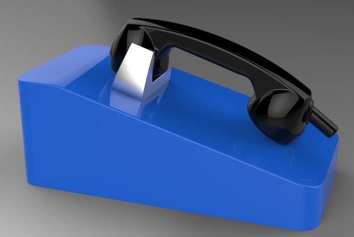 Desk Mounting Phone, Internet Phone for Industry, Desk Wireless Telephone