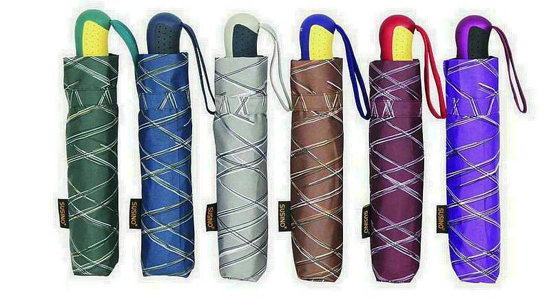 Inscriptions Print Quality Windproof 3 Fold Umbrellas (YS-3FA22083965R)