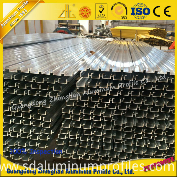 OEM Furniture Aluminum Extrusion Profile for Cabinet Frame