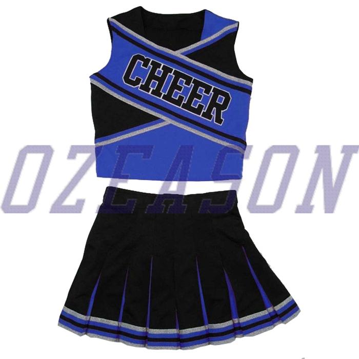 Ozeason Team Full Dye Sublimation Uniforms for Cheerleading Uniforms