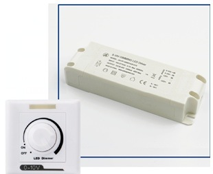 LED Power Supply 0-10V Adapter Driver for Dimming Function