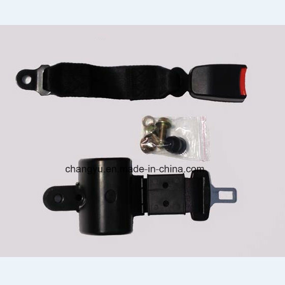 Retractable 2 Points Seat Belt with Ce Certificate