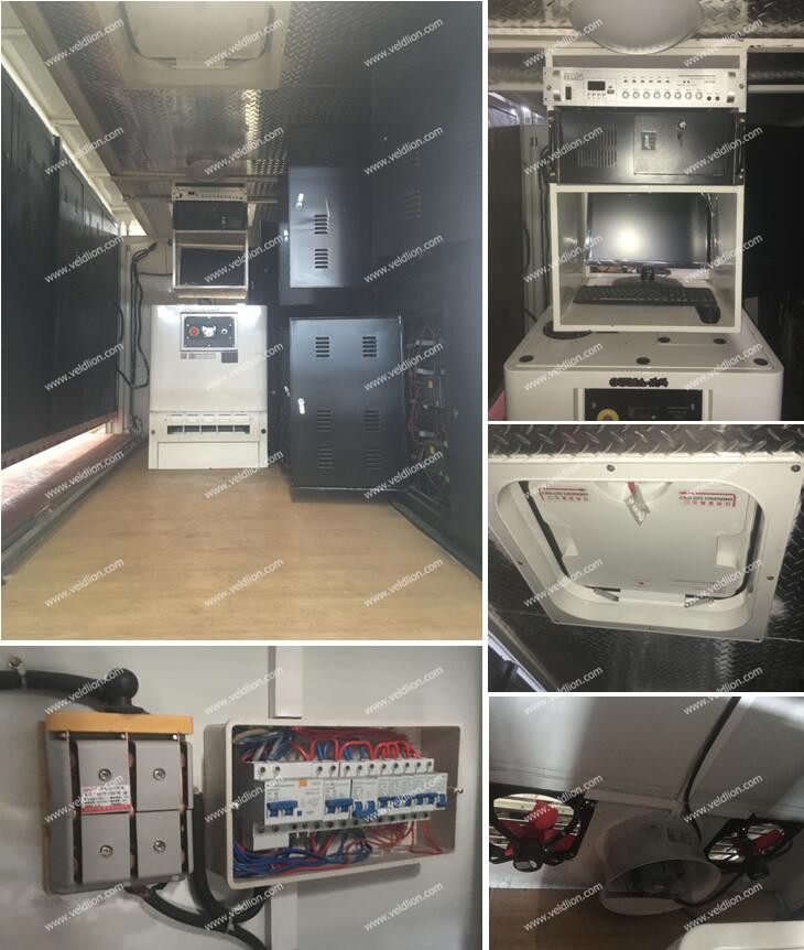 4X2 Foton P8/P6 Screen LED Mobile Truck for Sale