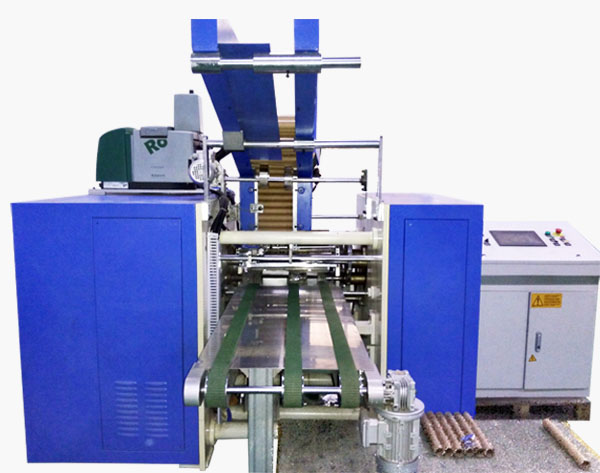 Full Automatic Aluminum Foil Cling Film Rewinding Machine with Ce