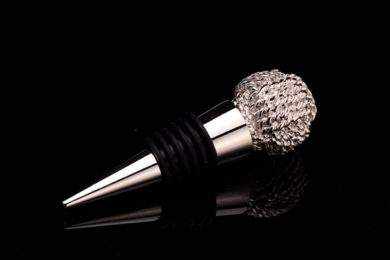 Sea Star Shape Silver Plated Bottle Stopper (GZHY-BS-027)