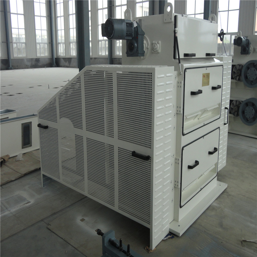 Hydraulic System Sunflower Seed Scourer with PLC Automatic Control
