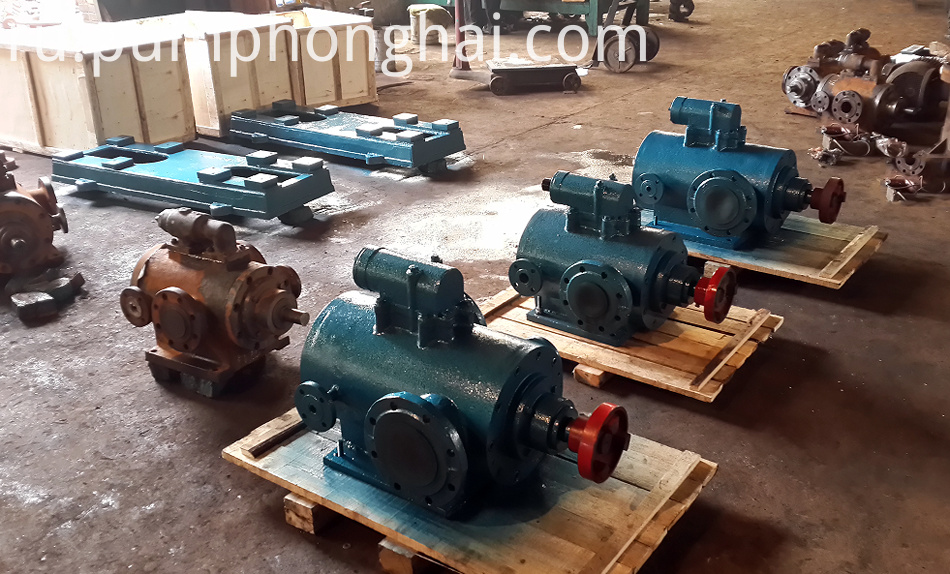 High Viscosity Bitumen Screw Pump