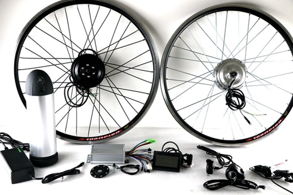 Agile Durable Brushless Geared 350W Bike Motor Kit From Factory