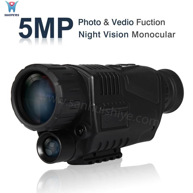Infrared Night Vision Camera with Photogrphy and Video Recording Function IR Monocular Telescopes