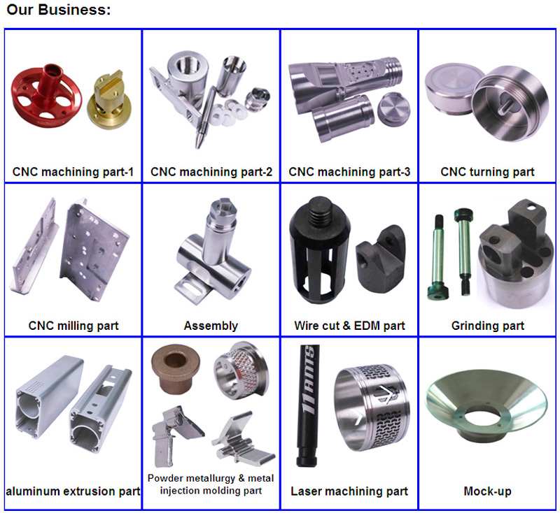 CNC Machined Part of Equipment Accessories (Steel Non-Standard part)