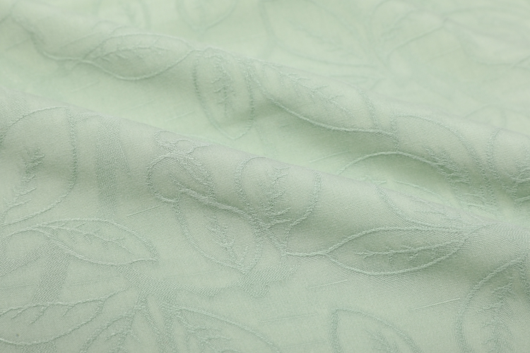 Cheap Wholesale 100%Rayon Floral Breathable Jacquard Fabric