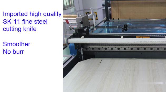 Film roll to sheet cutting machine