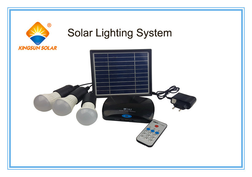 High Efficiency 100W Portable Solar Power System in Home
