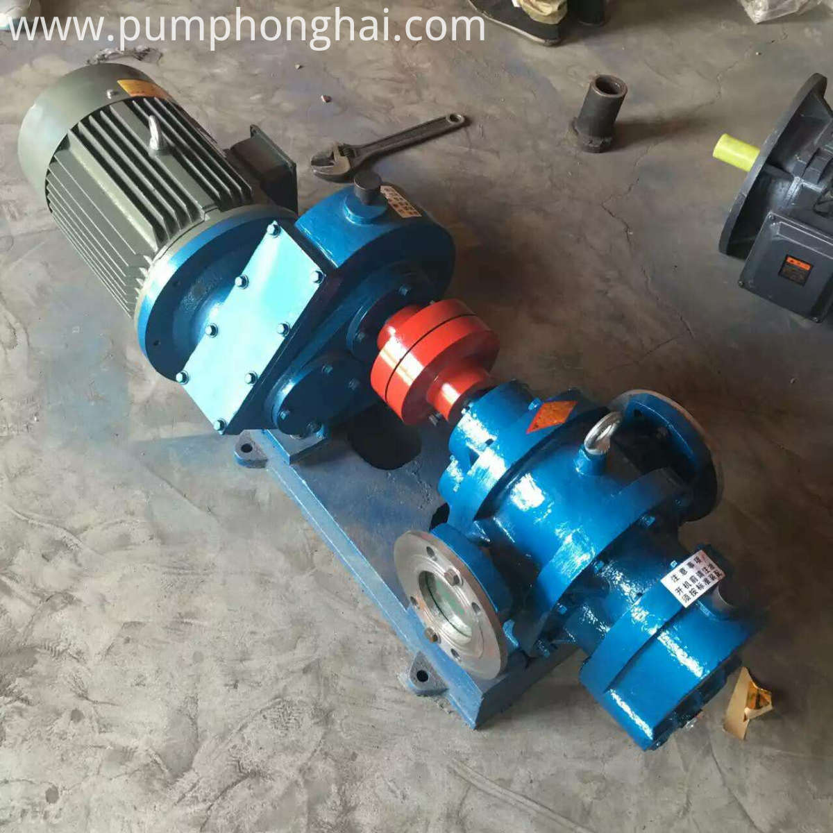 Bitumen Heating Pumps