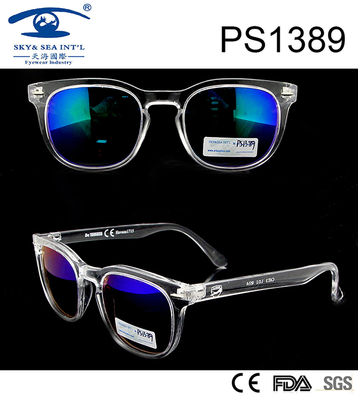 2017 Vintage Men Women Designertransparent Sunglasses (PS1389)
