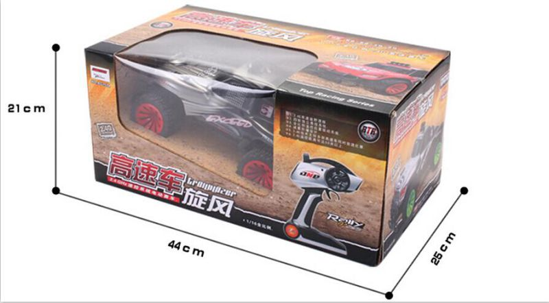 1/16 Plastic RC Car Remote Control Car High Quality RC Car Toy-China
