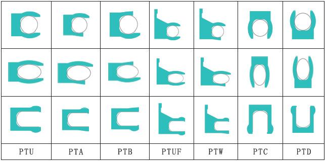 Teflon Spring Seal (PTU/ PTA/ PTB)