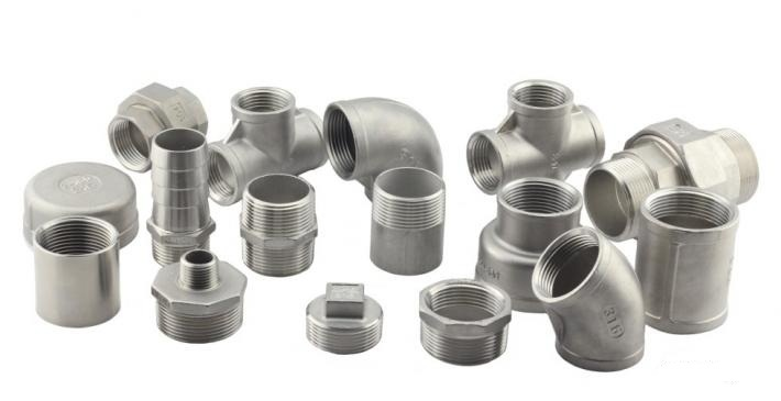 Stainless Steel Pipe Fitting SS304 BSPT NPT Thread Screw Union 1/2inch