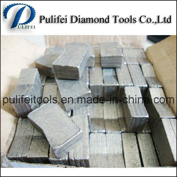 Diamond Cutting Tools Sandwich Granite Segment for Marble Stone