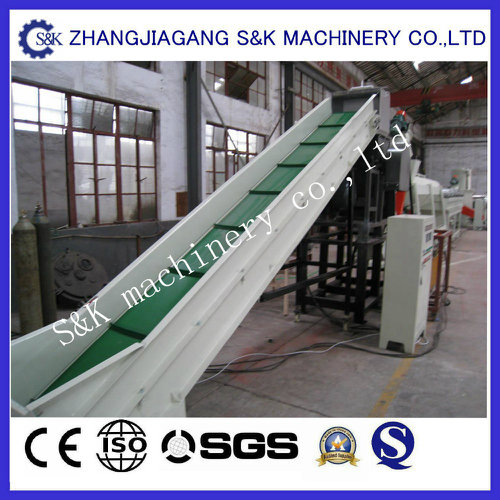 Automatic Washing Recycling Machine for Dirty Plastic Film and Woven Bags