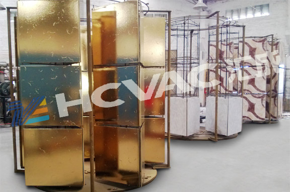 Ceramic Tiles/Cups/Plates Tableware Golden Color PVD Ion Plating Machine