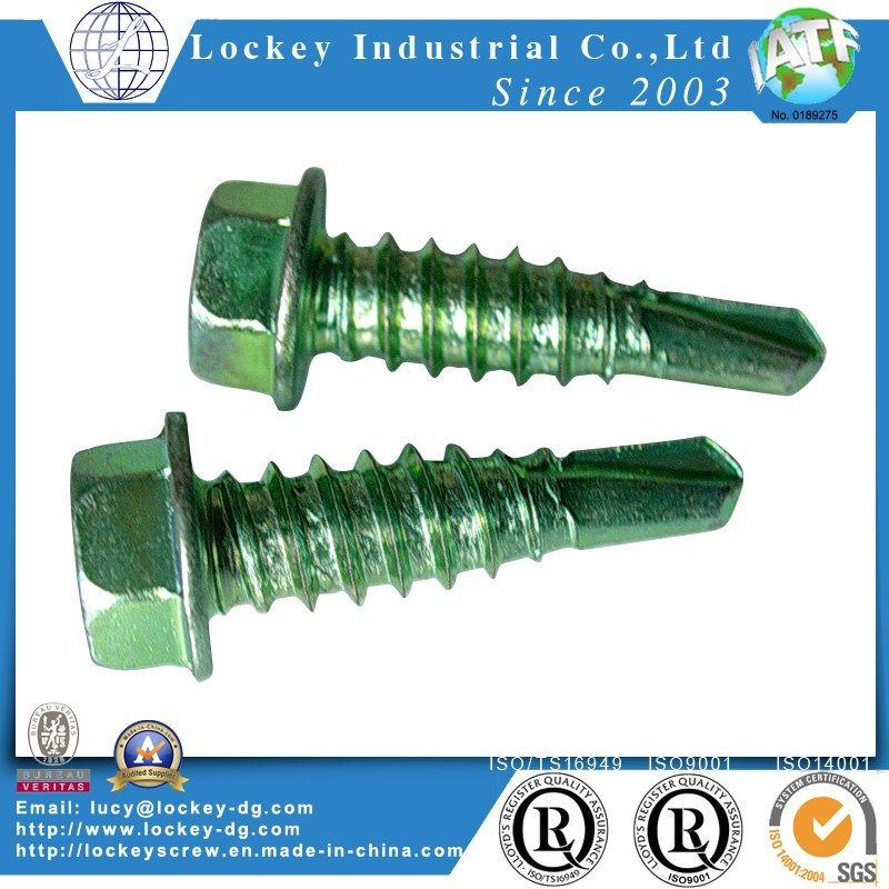 Pan Head / Flat Head / Hex Washer Head Self Drilling Screw Self Drilling Tapping Screw Tek Screw