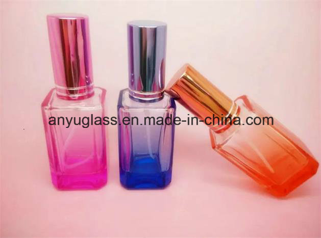 Colorful Glass Perfume Spray Bottle