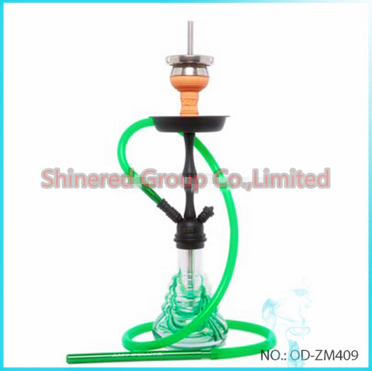 America Hot Selling Glass Smoking Pipe Glass Hookah Shisha