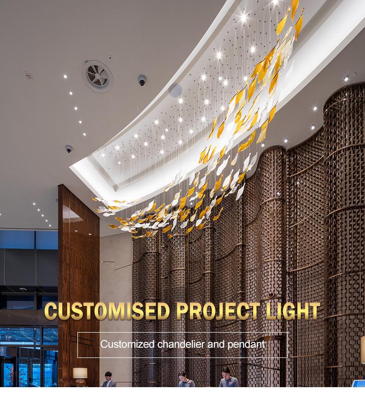 hotel luxury chandelier