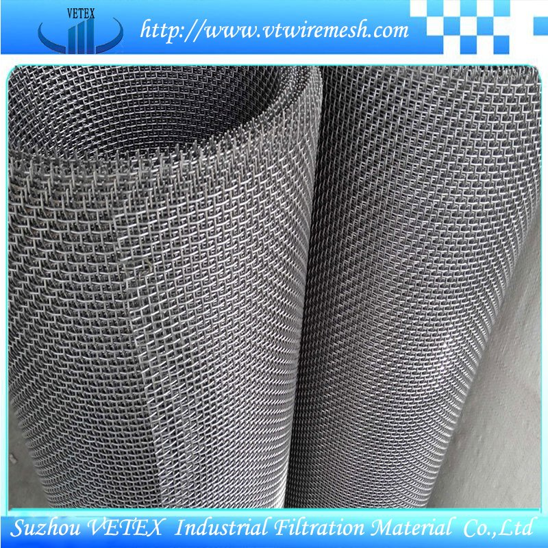 Crimped Square Wire Mesh Used in Road