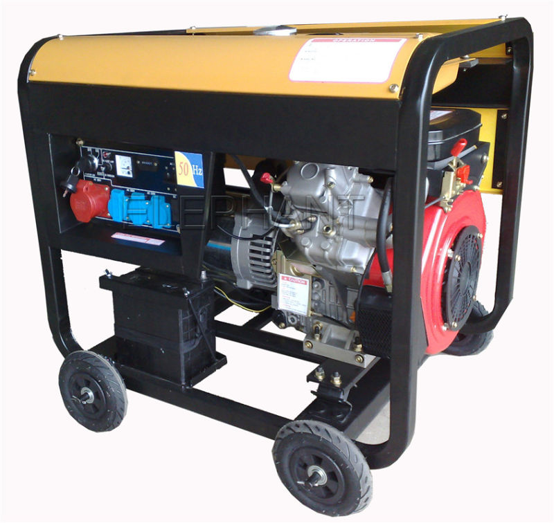 10kVA Portable Diesel Generator for Home