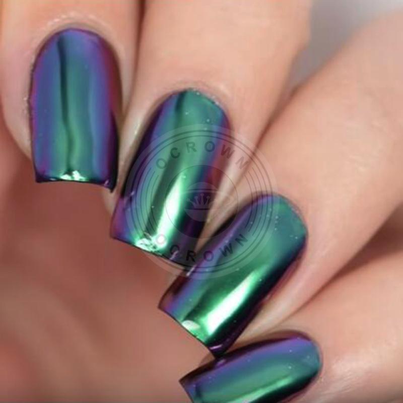 Shining Magic Mirror Powder Chameleon Chrom Pigment for Nail DIY