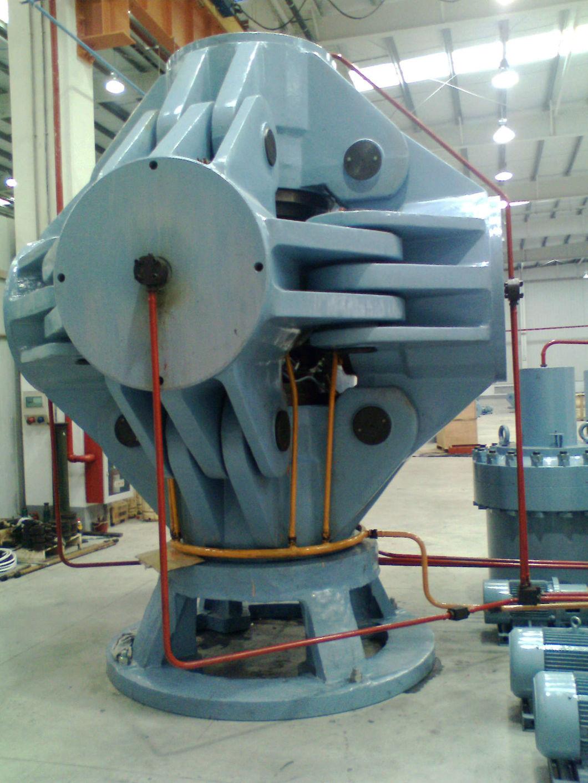 560mm Synthetic Diamond Machine Hthp Cubic Hydraulic Press, Diamond Making Machine