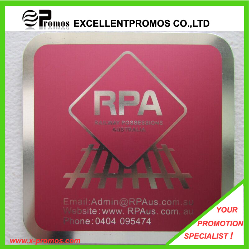 High Quality Promotional Custom Metal Coaster (EP-C411311)