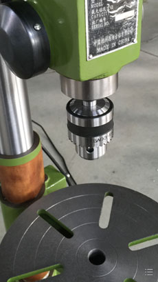Light Type Drill Machine Tool with High Precision 25mm (ZQD4125)