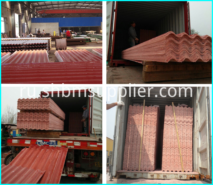 Insulated metro roof tile