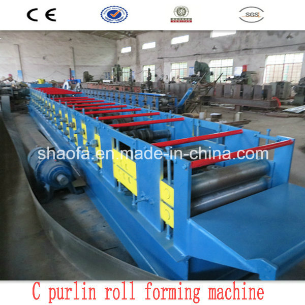 C Section Purlin Cold Roll Forming Machinery (AF-C80-300)