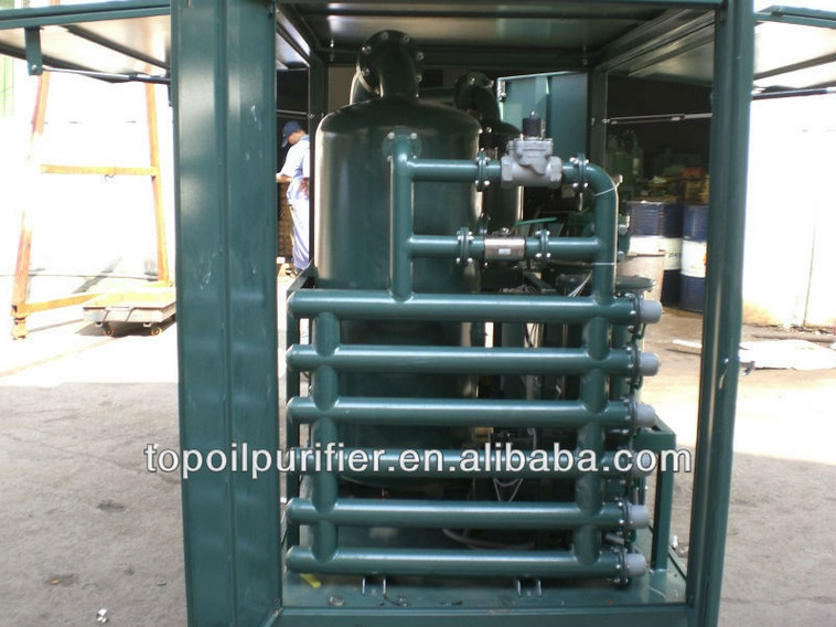 High Vacuum Stainless Steel Dielectric Oil Filtering Machine (ZYD-50)
